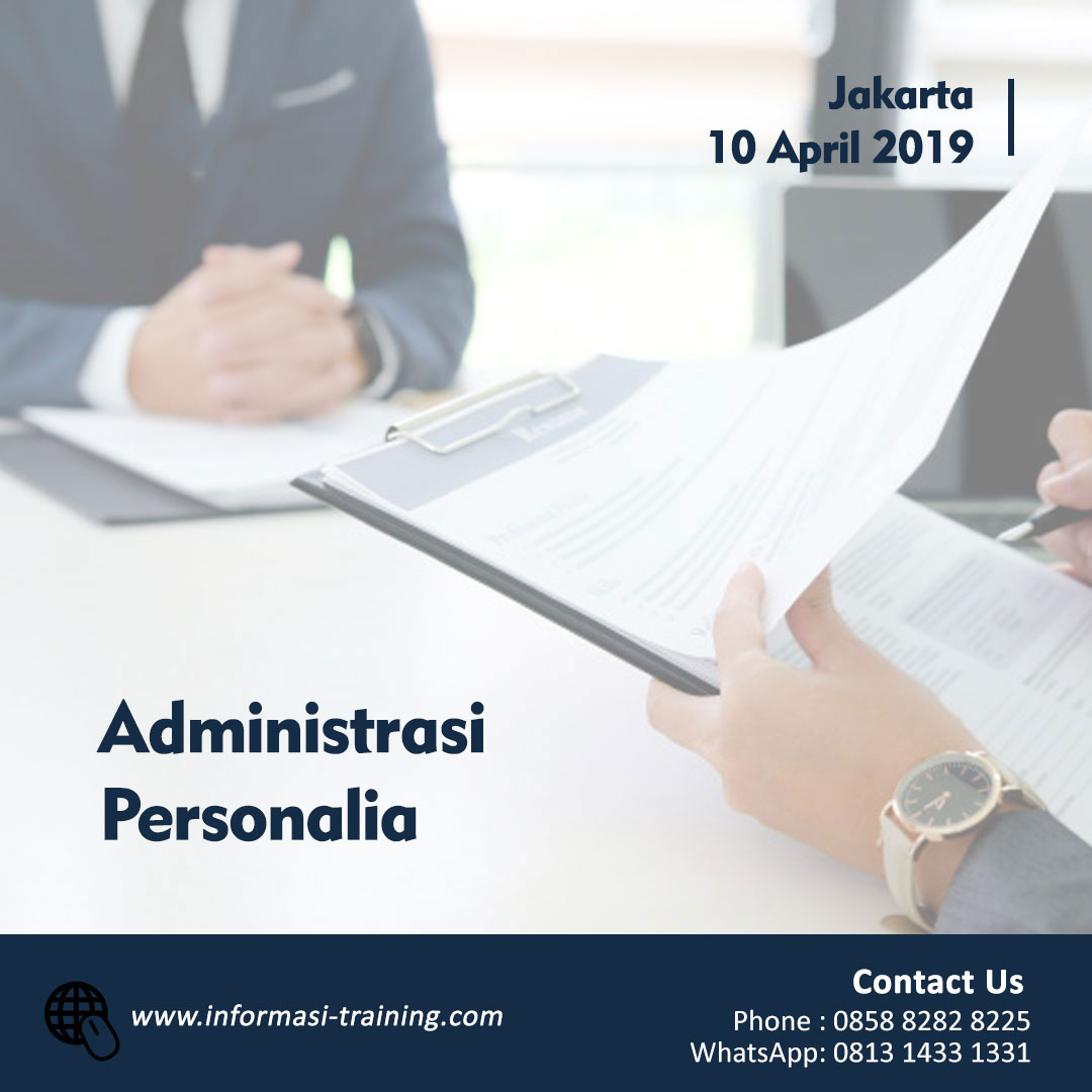 ADMINISTRASI PERSONALIA – Available Online