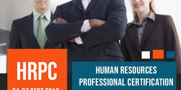Human Resources Professional Certification (HRPC) – ALMOST RUNNING