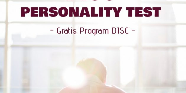 DISC PERSONALITY TEST (Gratis Program DISC)