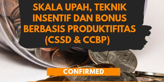 Training Pengupahan Berbasis Produktivitas – AVAILABLE ONLINE