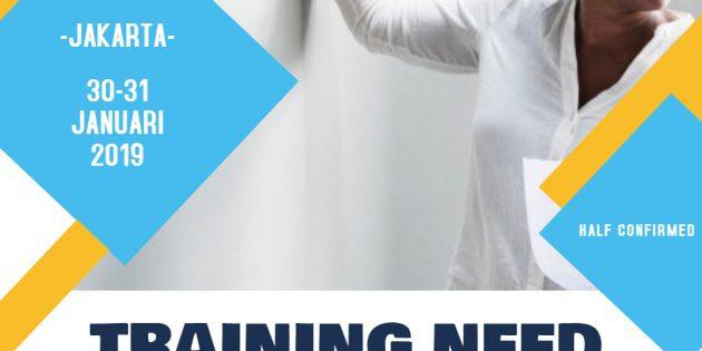 TNA – Training Need Analysis (Almost Running)