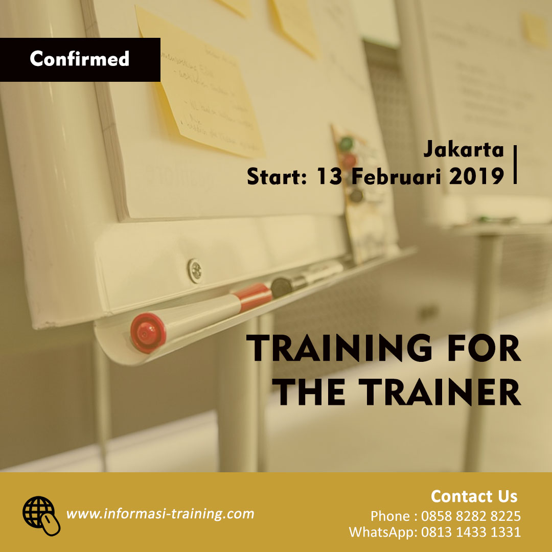Training For Trainer (TOT)