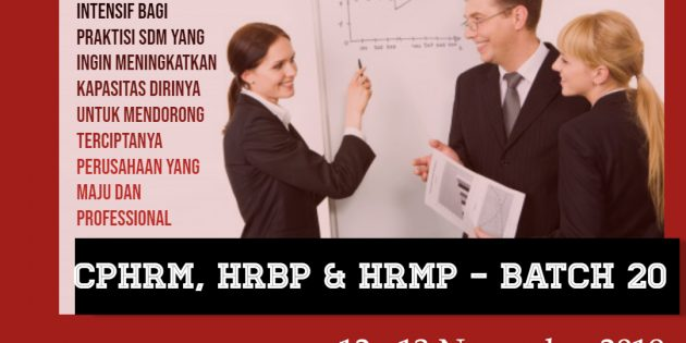 CPHRM, HRBP & HRMP – Next Generation (AVAILABLE ONLINE)