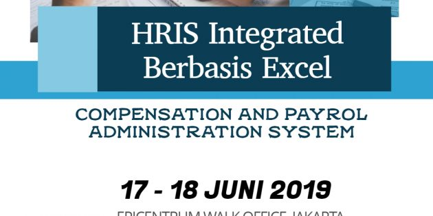 HRIS Integrated Berbasis Excel – AVAILABLE ONLINE