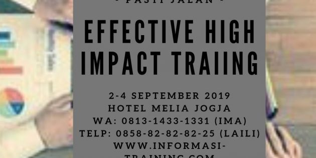 Effective & High Impact Training – PASTI JALAN