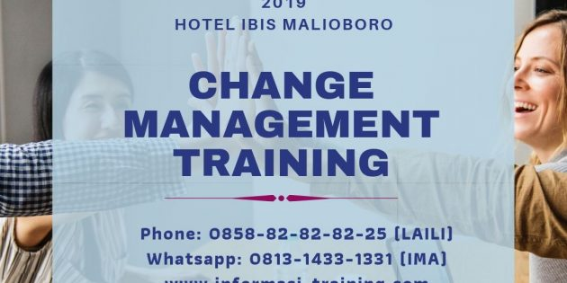 CHANGE MANAGEMENT – Pasti Jalan