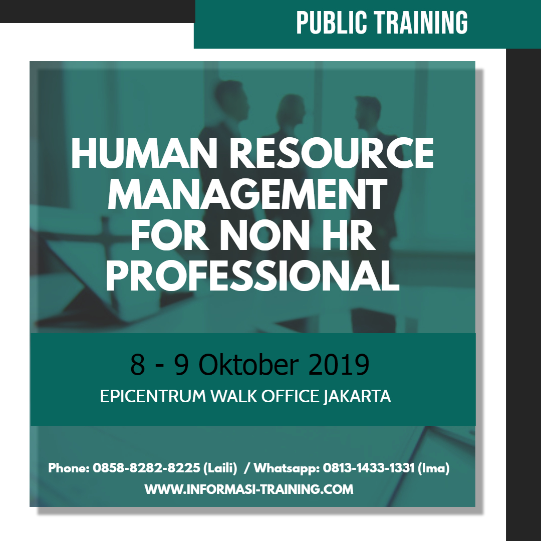 Human Resources Management for Non HR
