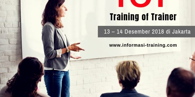 TRAINING OF TRAINERS (TOT) – Available Online
